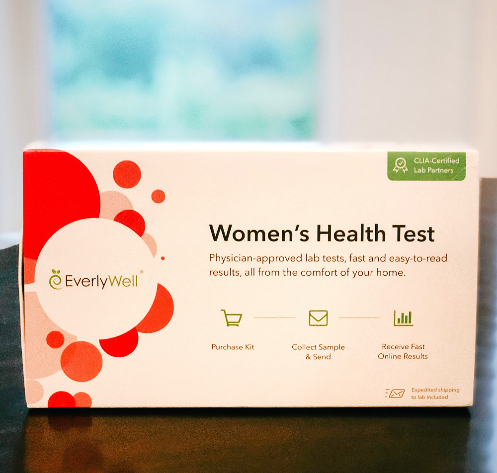 Testing Hormones At Home With EverlyWell Women's Health Test